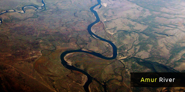 Rivers in Asia - Amur River