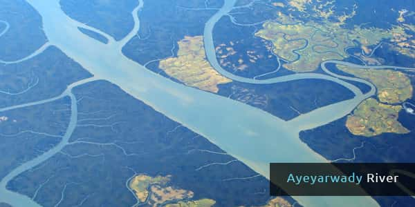 Rivers in Asia - Ayeyarwady River