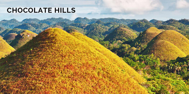 Famous Landmarks in Asia - Chocolate Hills