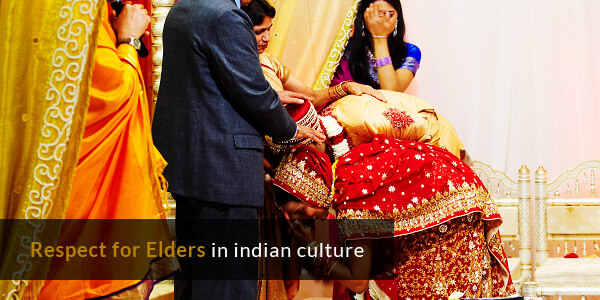 Customs in India - Respect for Elders