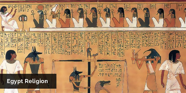 the religion and faith of the egyptians This story is often used in religious studies to help understand the problems of language and faith true according to the above reading, a religion needs something to link back to.