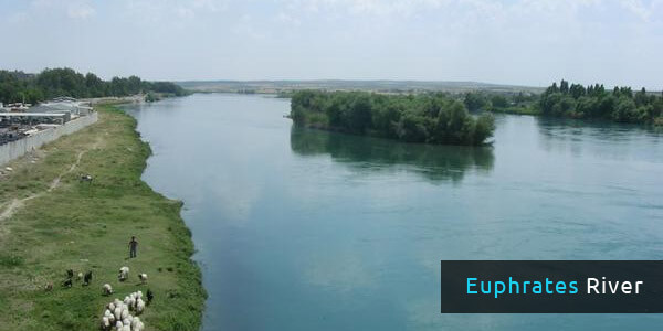 Rivers in Asia - Euphrates River
