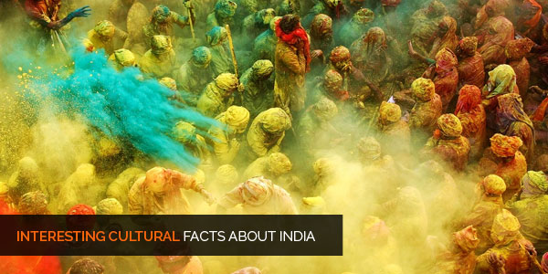 Interesting Facts about India - Culture