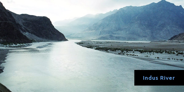 Rivers in Asia - Indus River