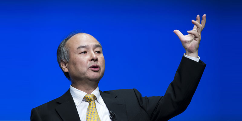 Top Richest People in Asia - Masayoshi Son