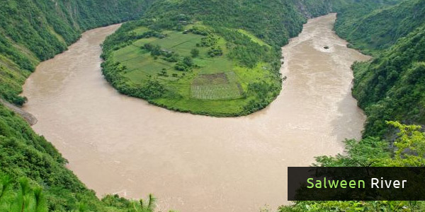 Rivers in Asia - Salween River