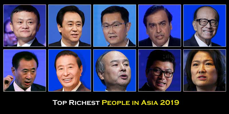 Top Richest People in Asia Picture