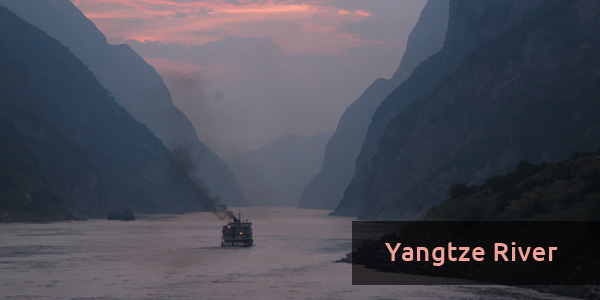 Rivers in China - Yangtze River