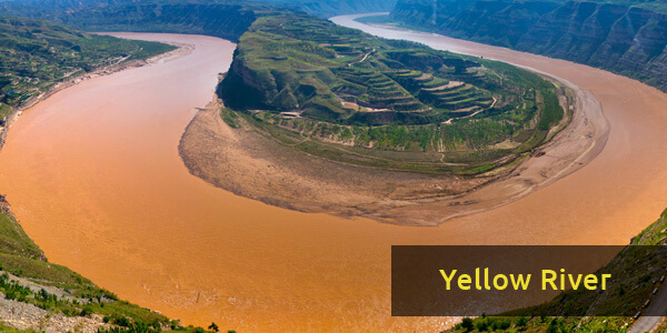 Rivers in Asia - Yellow River