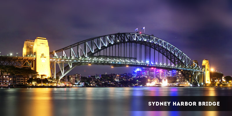 Sydney Harbor Bridge - Best Places to Visit in Australia