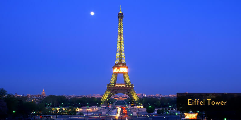 Tourist Attraction in Europe - Eiffel Tower