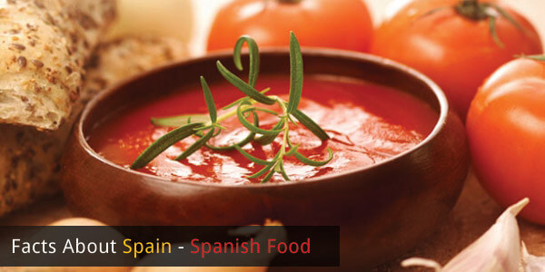 Facts About Spain - Spanish Food