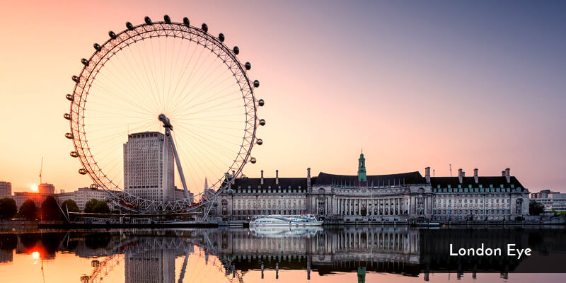 Tourist Attraction in Europe - London Eye