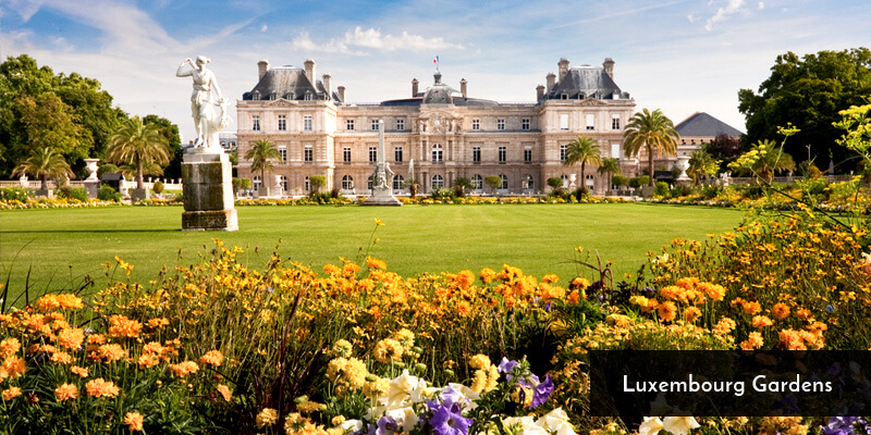 Tourist Attraction in Europe - Luxembourg Gardens