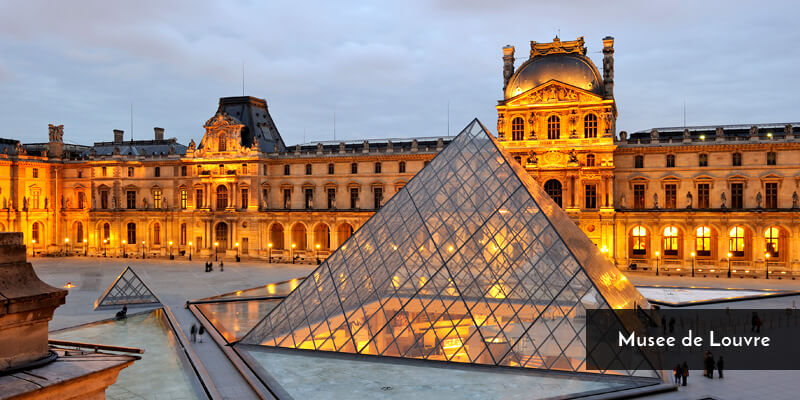 Tourist Attraction in Europe - Musee de Louvre