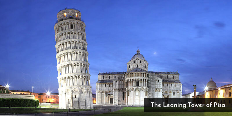 Tourist Attraction in Europe - The Leaning Tower of Pisa