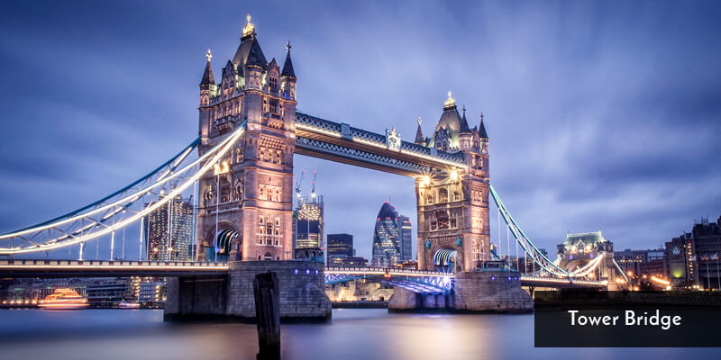 Tourist Attraction in Europe - Tower Bridge
