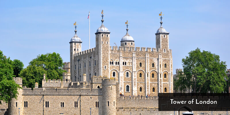 Tourist Attraction in Europe - Tower of London