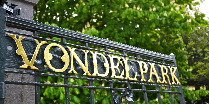 Tourist Attraction in Europe - Vondelpark