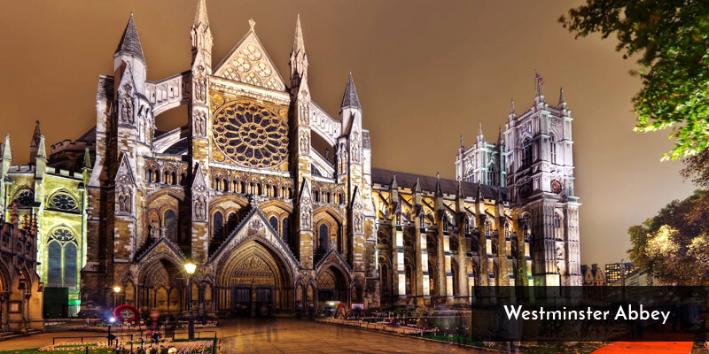 Tourist Attraction in Europe - Westminster Abbey