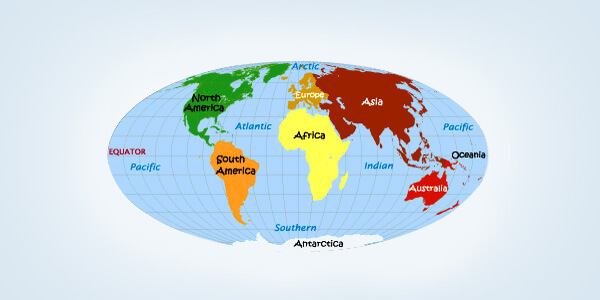Largest Continent In The World By Area And Population - What is the biggest continent