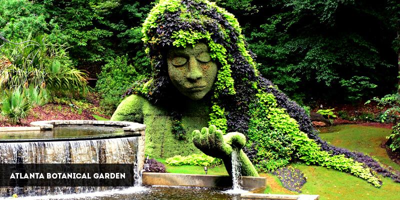 Best Places to Visit in North America - Atlanta Botanical Garden