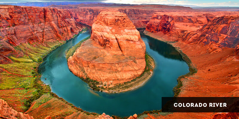 Rivers in North America - Colorado River