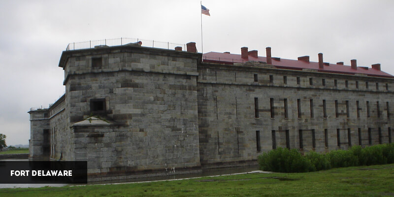 Best Places to Visit in North America - Fort Delaware