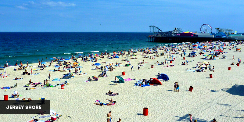 Best Places to Visit in North America - Jersey Shore