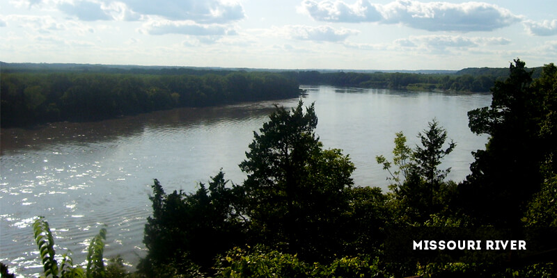Rivers in North America - Missouri River