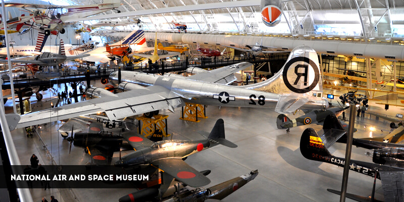Best Places to Visit in North America - National Air and Space Museum