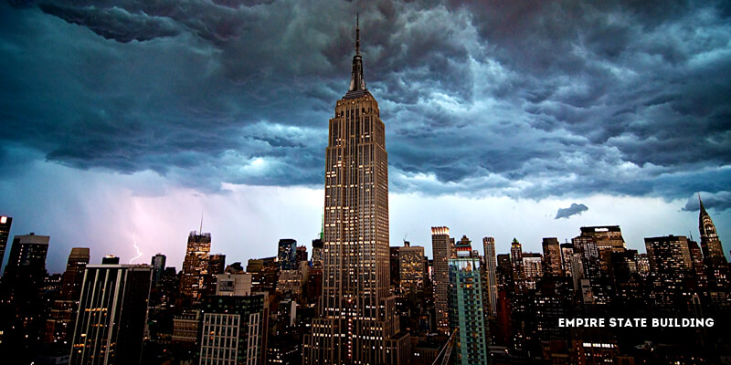 Famous Landmarks in North America - The Empire State Building