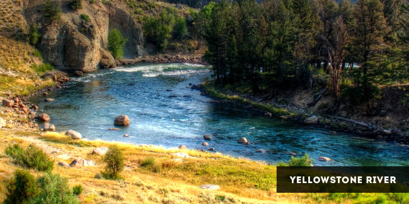 Rivers in North America - Yellowstone River