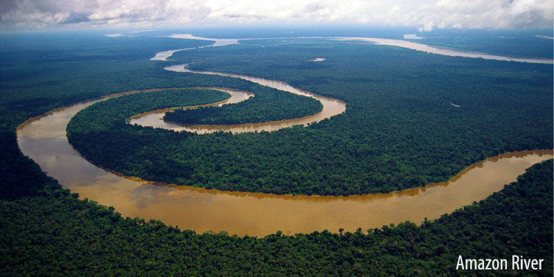 Rivers of South America - Amazon River