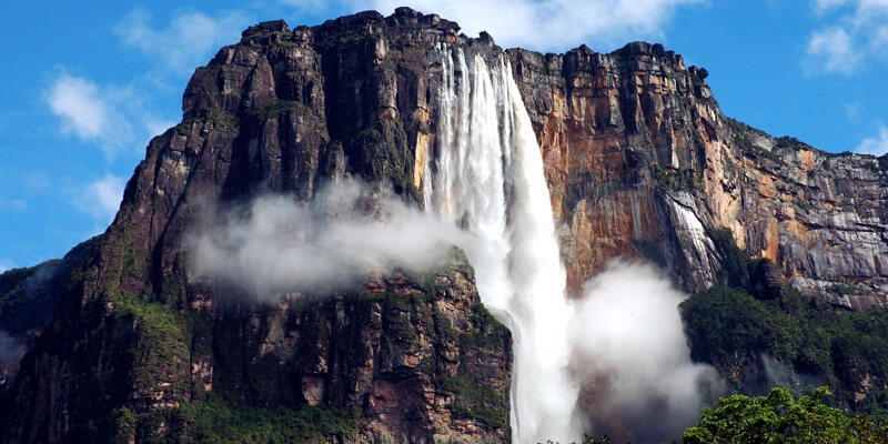 Famous Places to Visit in South America - Angel Falls