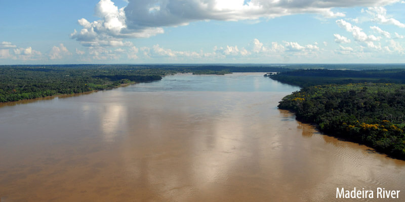 Rivers of South America - Madeira River