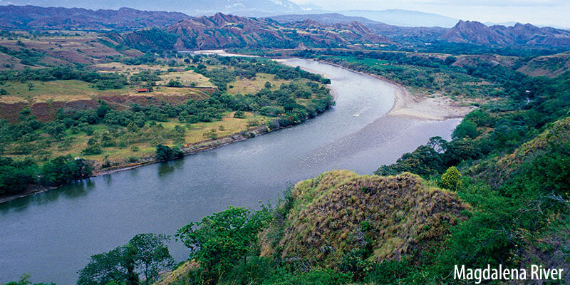 Rivers of South America - Magdalena River