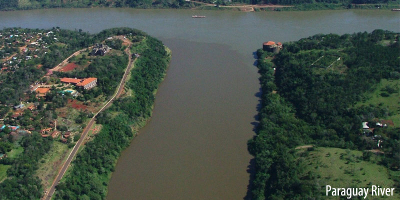 Rivers of South America - Paraguay River