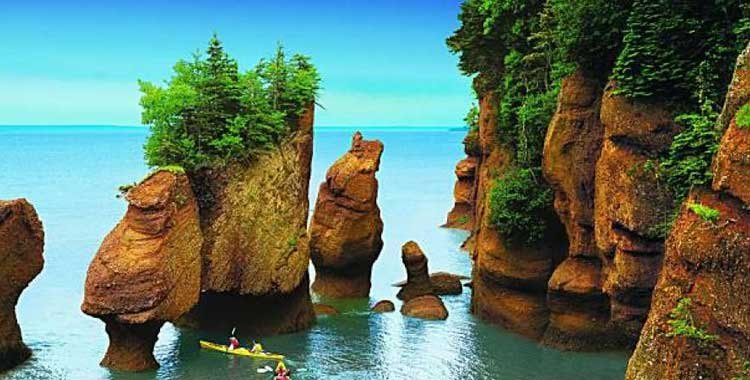 Most Natural Beautiful Country Canada - Bay of Funday
