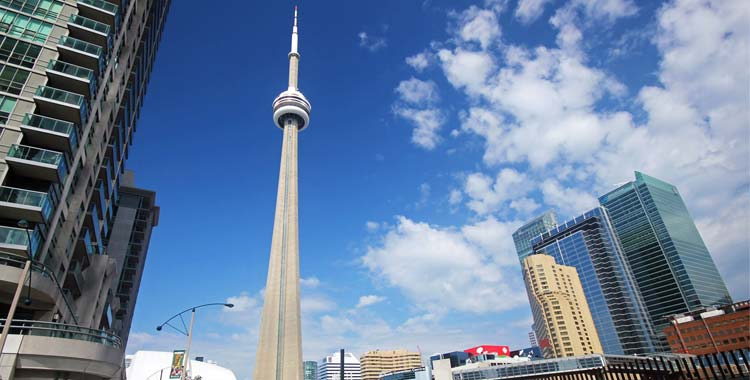 Most Natural Beautiful Country Canada CN Tower
