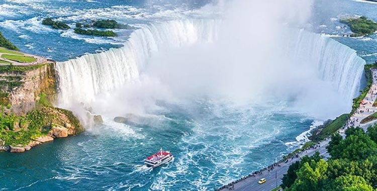 Most Natural Beautiful Country Canada Niagara Falls