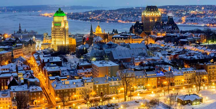Most Natural Beautiful Country Canada Old Quebec